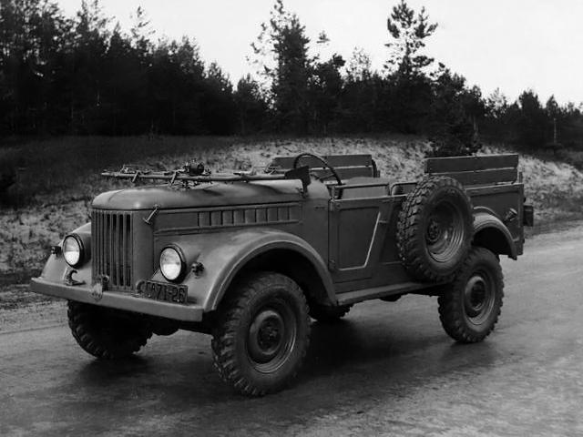ГАЗ 69 Труженик Опытный (1947)