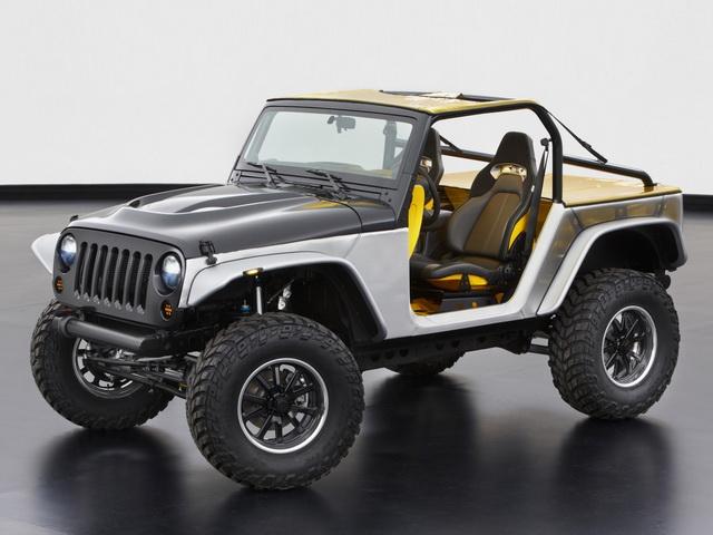 Jeep Wrangler Stitch Concept (2013)