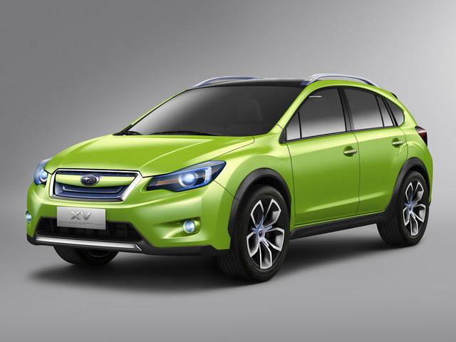 Subaru R1e concept