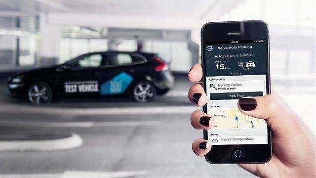 Компания Volvo обучит свои автомобили самостоятельной парковке