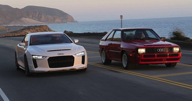 Компания Audi готовит к дебюту свой новый концепт-кар